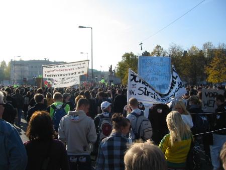 Demo gegen den Überwachungswahn 11.10.2008 -