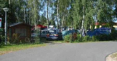 Zeltplatz Oehna