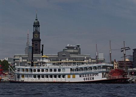 Mississippi-Quatsch auf der Elbe