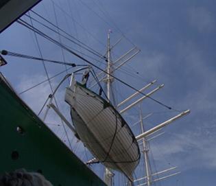 Rickmer Rickmers Rettungsboot