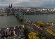 Köln vom Triangelturm aus