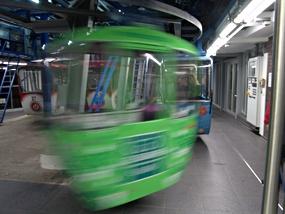 Seilbahn zum Köln Park