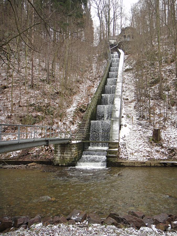 Kaskade vom Wasserwerk