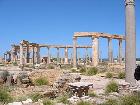 Leptis Magna market place