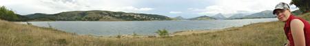 Lago di Campotosto, Abruzzen, Italien