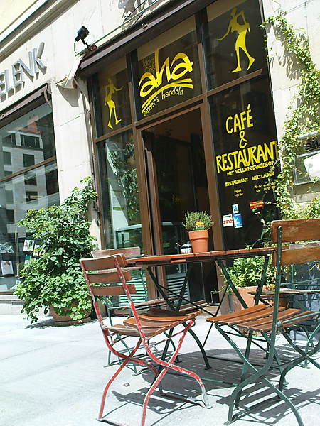 Cafe Aha an der Kreuzkirche Dresden