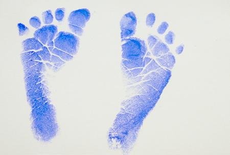 Alinas Füße