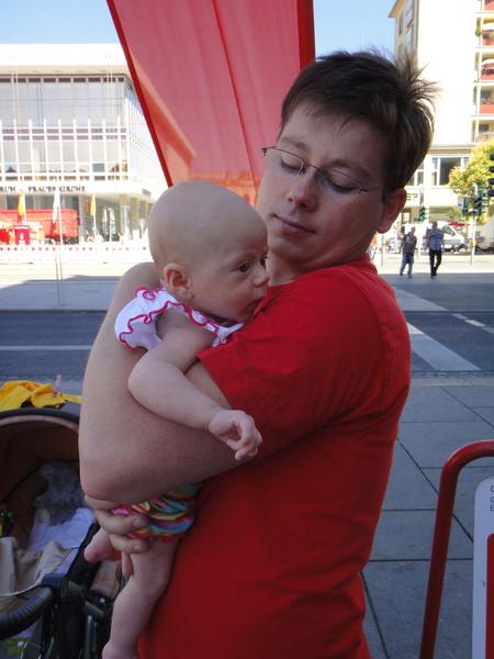Alina auf dem Altmarkt