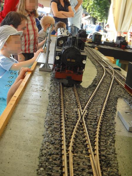 Modellbahn Echtdampf