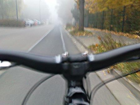 Nebelprickeln im Gesicht