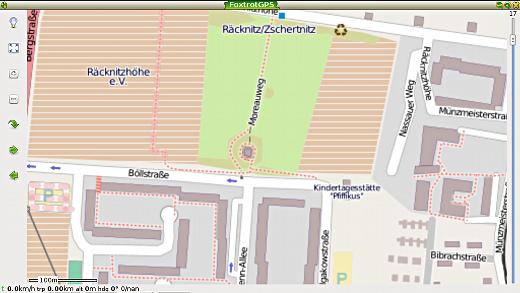 Größte Zoomstufe der heruntergeladenen OpenStreetMaps