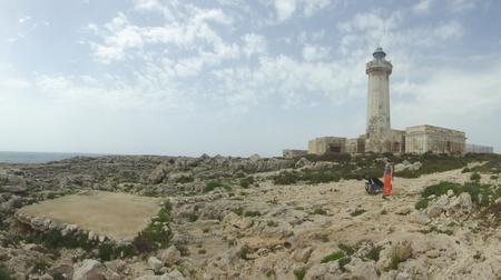 Schroffe Küste bei Plemmirio