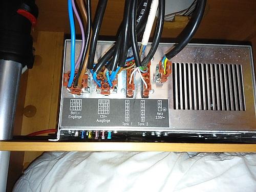 Schaudt Elektroblock ELB 280 von hinten