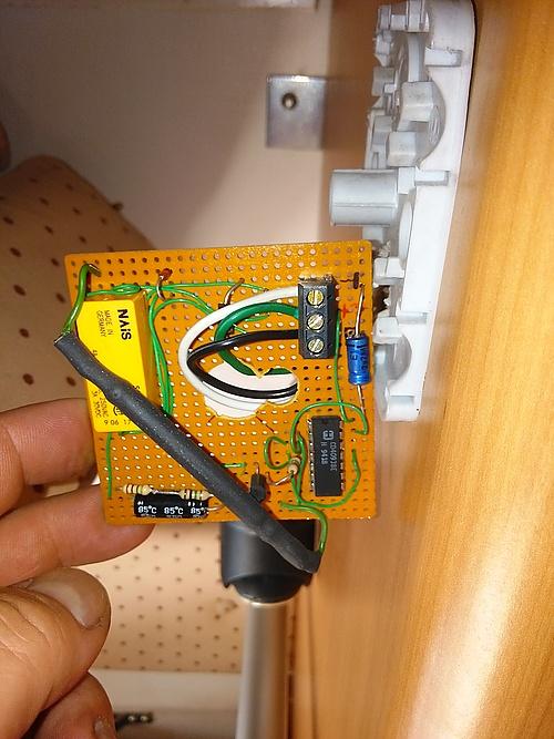 elektronischer Schalter der Geheimfach-Verriegelung
