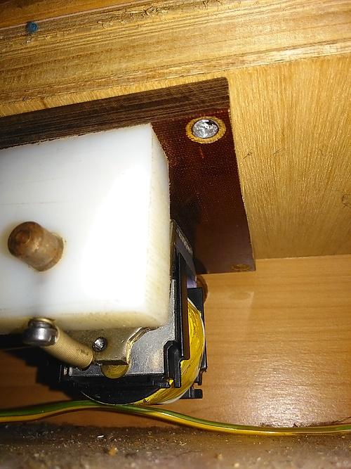 Magnetriegel als Geheimfach-Verschluss im Womo