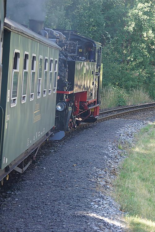Zittauer Schmalspurbahn, nach Zittau dampfen