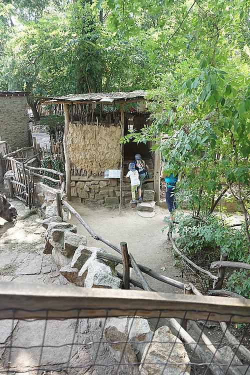 Tibetische Toilette