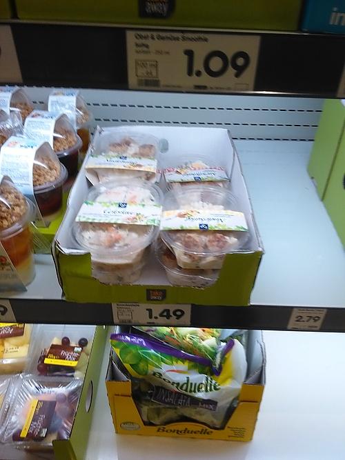 überall Fleisch drin in den Convenience-Produkten
