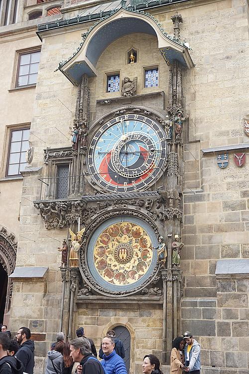 astronomische Uhr am Altstädter Ring in Prag