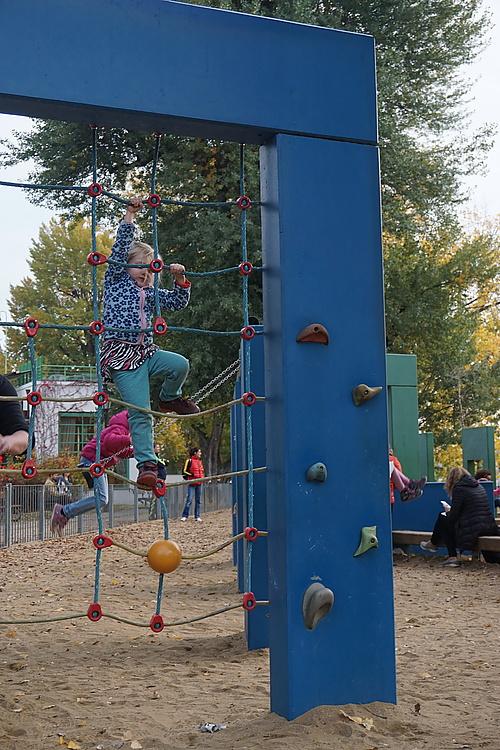 Spielplatz auf der Žofín