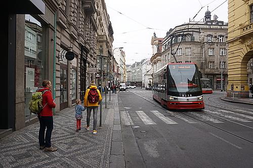 Strasse in Prag