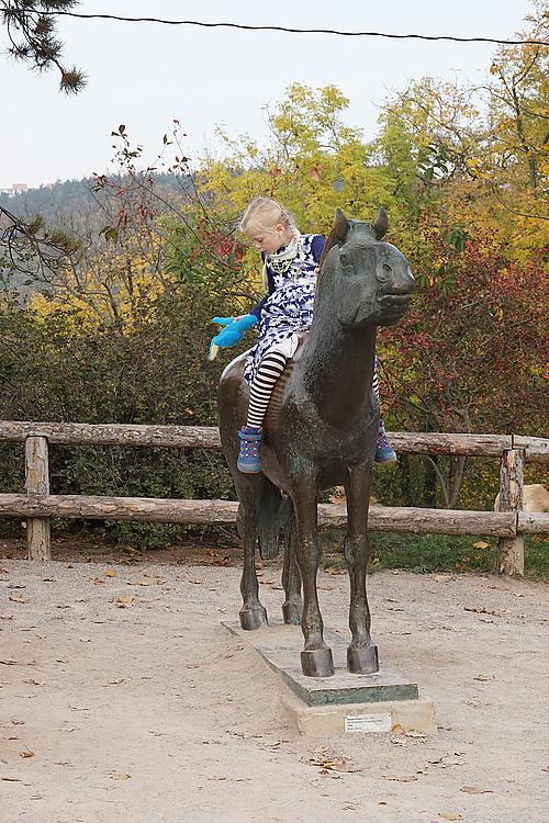 Przewalski-Bronze, Zoo Prag