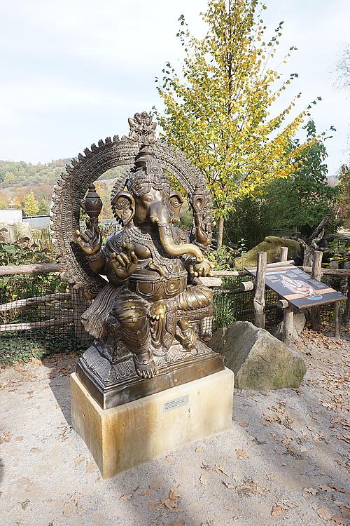 Ganesha, Zoo Prag