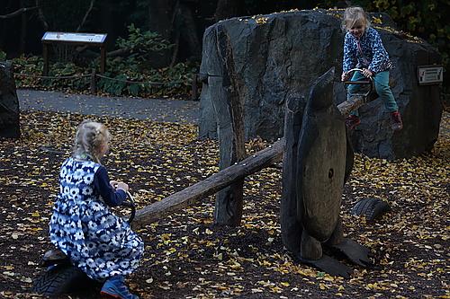Wippe, Zoo Prag