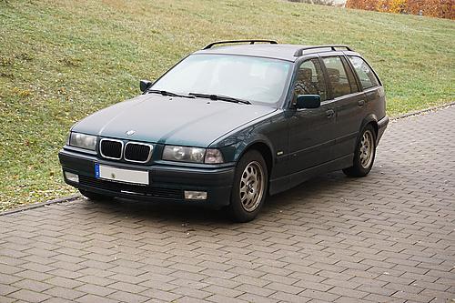 BMW E36 328i von vorn