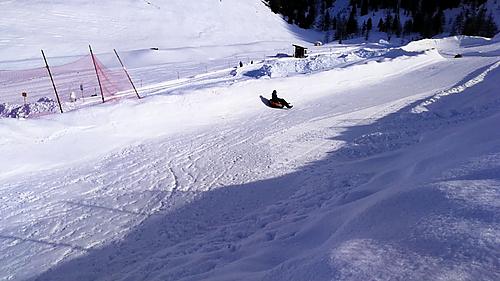 snowtubing am Gerlosstein