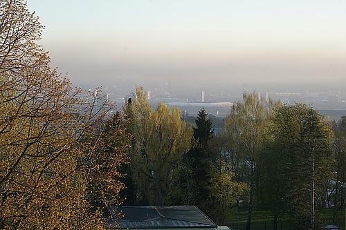 Smog über Dresden