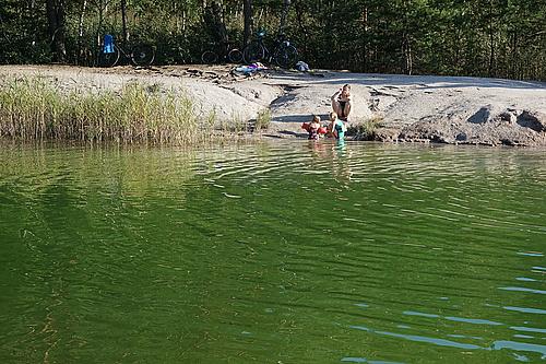 baden im Biehainer See