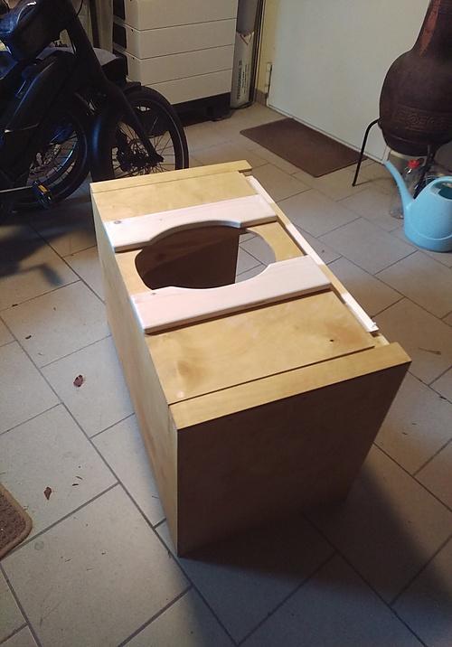 Trenntoilette Prototyp