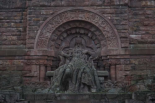 Kyffhäuser, Barbarossa am Kaiser-Wilhelm-Denkmal