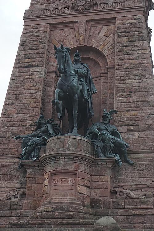 Kyffhäuser, Kaiser Wilhelm zu Pferde