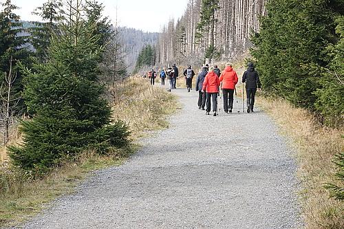 Bahnparallelweg Brocken