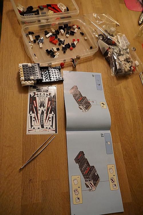 Lego Speed Champions 76896 Ńissan GTR NISMO