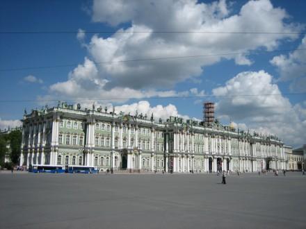 Ermitage - St.Petersburgs größtes Kunstmuseum mit 1.5 Mio. Exponaten