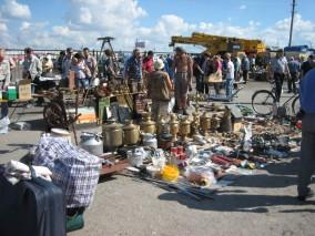 russischer Flohmarkt