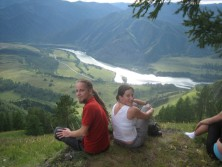 Wandern im Altai