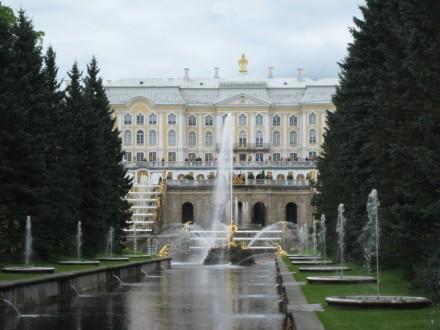 Peterhof - ehemalige Residenz Zar Peter I.